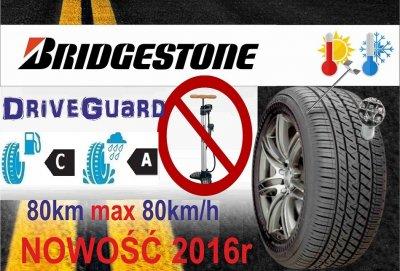 4X opona 195/65R15 Bridgestone jedź bez powietrza