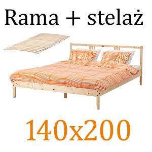 Ikea Fjellseluroy Rama łóżka 140x200 Cm Hit48h 5969949078