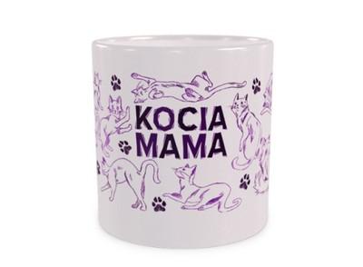 Kocia Mama Dużekubkipl Duży Kubek Z Kotami 440ml 6920520628