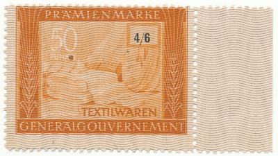 754. Pramienmarke 50pkt, Tekstylia (4/6)