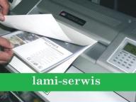 PAPIEROWY CARRIER DO LAMINOWANIA -CZYSTY LAMINATOR