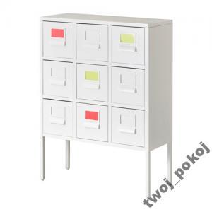 Nietypowy Okaz SPRUTT metalowa szafla z szufladami IKEA - 5907393341 - oficjalne LU03