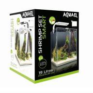 AQUAEL SHRIMP SET SMART 2 białe AKWARIUM 10L