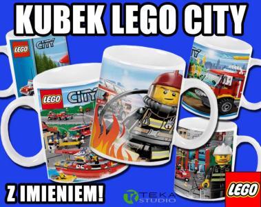 Kubek Lego City Z Imieniem Dla Chłopca Hit 4702197560 Oficjalne