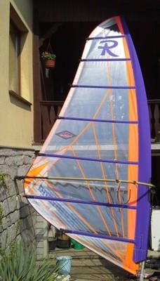 Kompletny pędnik z żaglem RASCHWIND 6,6 m2