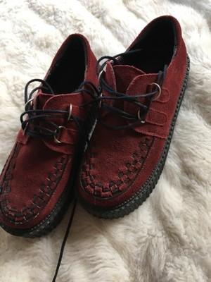 Buty bordowe cwieki botki mlodziezowe 38