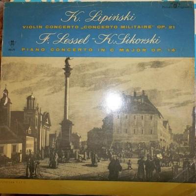 Violin concerto - K.Lipiński Doskonały/EX xl 0176
