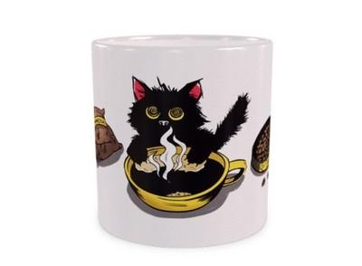Kofeinowy Kotek Duży Kubek Z Kotem 440ml 6562923108 Oficjalne