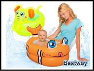 JKM 51125 Bestway Dmuchana wanienka rybka słonik
