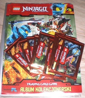 Album Klaser Na Karty Lego Ninjago 2 Saszetki 6925495317