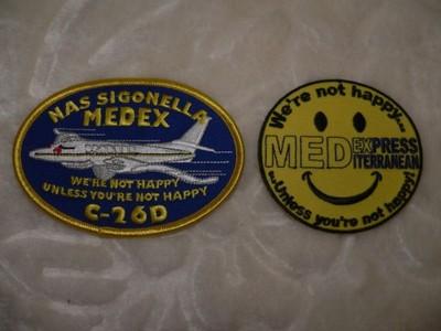 Naszywki C-26D US Navy, USA