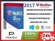 McAfee Total Protection 2017 - 10 stanowisk / 1rok