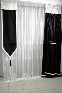 Elegancki Panel Czarny Błysk Kolekcja Ewa Minge 6427625317