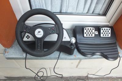 Kierownica + pedały Fanatec Speedster2 Playstation