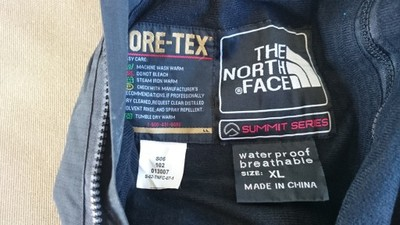 THE NORTH FACE   GORE-TEX  spodnie XL