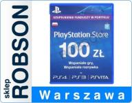 PSN 100 ZŁ PS4 100ZŁ AUTOMAT 24/7 KOD PLAYSTATION