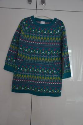COCCODRILLO Śliczna Tunika Sukienka 104 3-4 l IDEA