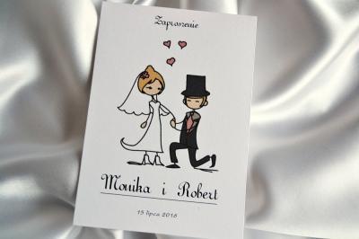 Zaproszenia Na ślub ślubne Na Wesoło P 5000681979 Oficjalne