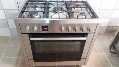 Kuchnia Gazowa Bosch Inox 90 Cm 5 Palnikow