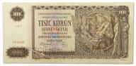 20.Słowacja, 1 000 Koron 1940, P.13.s, St.3+