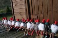 Skrzat handmade piękna ozdoba świąteczna unikaty