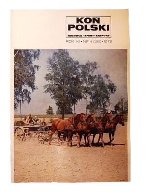 Czasopismo Koń Polski rok VII nr 4 (28) 1972