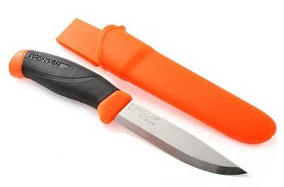 Nóż MORA Companion F orange myśliwski wędkarski