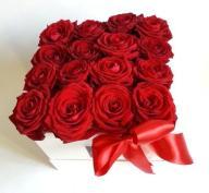 Dostawa kwiatów Flowersbox kwiaty w pudełku