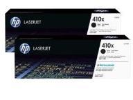 HP Toner  410X Black Dual Pack 6.5k CF410XD