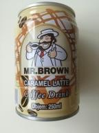 Kawa puszka Mr. Brown latte karmel 250 ml