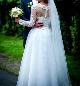 Suknia ślubna Koronka Długi Rękaw 5963865478 Oficjalne Archiwum