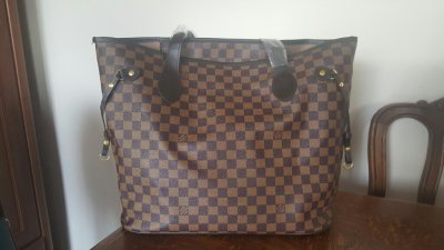 07c37b4c0a404 Torba lv Louis Vuitton brązowa shopper bag - 6406299247 - oficjalne ...