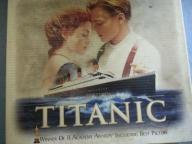 TITANIC kaseta VHS + zdjęcia
