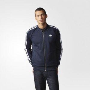 Adidas SUPERSTAR bluza męska DRESOWA granatowa S