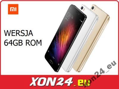 XIAOMI MI5 64GB 16MP SNAP820 NFC LTE - WYSŁKA 24H