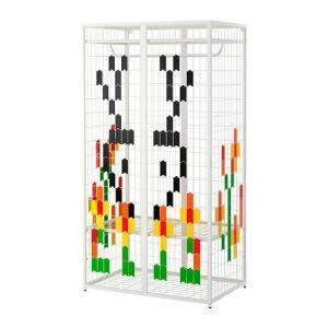 Zaktualizowano IKEA PS 2014 szafa kolorowy wzór nowość IKEA - 6070841499 CA62