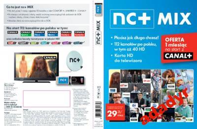 NC+ MIX moduł CAM Canal+ platinium na 13m-c