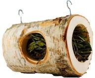 Drewniany tunel zawieszany dla królika gryzoni 2
