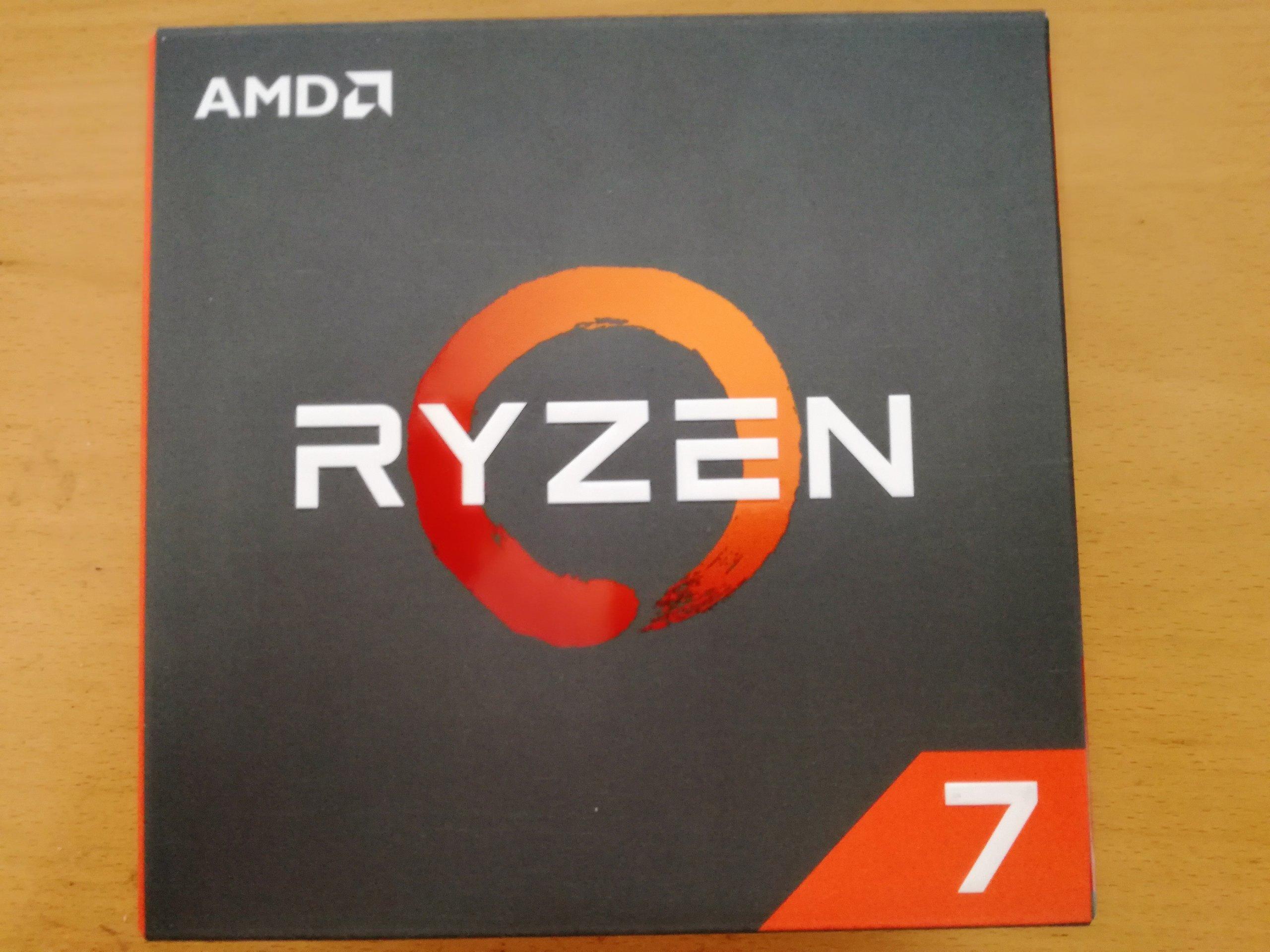 AMD Ryzen 7 1700X BOX. Gwarancja