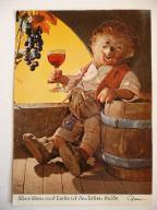pocztówka Pijany jeż 1967