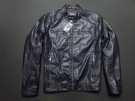 MICHAEL KORS __ LEATHER LOOK NEW JACKET - L