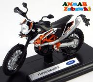 KTM 690 ENDURO R  MODEL METAL WELLY MOTOR 1:18 NEW