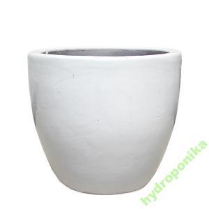 Donice Ceramiczne Couple Białe 4643 Donica Biała