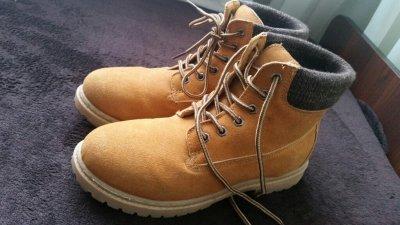e6aa54e435c83 skórzane buty zimowe damskie r.39 trapery - 6565347336 - oficjalne ...