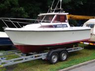Jacht motorówka kabinowa DIESEL 50km  ESTEOU 630