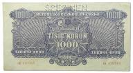 12.Czechosłowacja, 1 000 Koron 1944, P.50.s,St.3+
