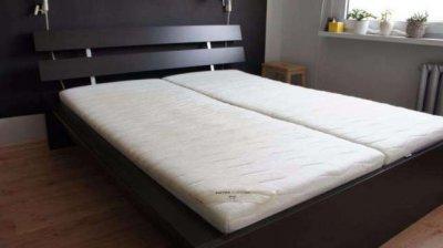 Ikea łóżko Dwuosobowe Stelażdno Jak Nowe