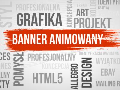 Internetowy Baner Banner Flash Banery Nagłówek Top 6378998483