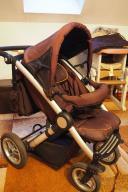 Wózek spacerowy Mutsy Transporter z dodatkami brąz