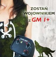 Wykrywacz dla PAŃ - Golden Mask DT Wojownik -18khz